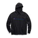 Champion W0934G-Y07418 Women's Powerblend® Fleece Pullover Hoodie, Script Logo