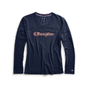 Champion W4386G 550250 Women's Long-Sleeve Tee