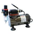 Paasche DA300R 1/8 HP Compressor with Regulator & Auto Shutoff {Black}----product weight: 8.2