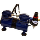 Paasche DA400R Dual Head 1/6 H.P. Compressor w/ Auto Shutoff & Regulator----product weight: 12.55