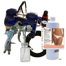 Paasche DA400T Deluxe Quick Application Tanning Kit----product weight: 18.5