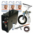 Paasche DC600TA Quick Application Tanning System w/ TS Airbrush----product weight: 44