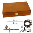 Paasche TG-3W TG-3F Set in Wood Case----product weight: 2.16