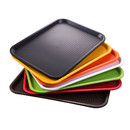 Muka Wholesale Plastic Fast Food Trays, 50PCS Per Pack