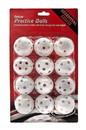 ProActive Sports Deluxe Practice Golf Balls - 12 Pack
