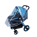Muka Multi-Size Rain Cover for Stroller with UV-Proof Window Windproof Baby Travel Weather Shield
