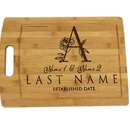 Muka Personalized Cutting Board for Wedding / Housewarmings / Anniversary, 9