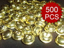 Aspire 500PCS 16mm Gold Plated Jingle Bells, DIY Party Favors