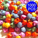 Aspire 1000PCS 6mm Multi-colored Small Bells, DIY Party Favors