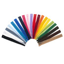 TOPTIE 100 Pieces Nylon Coil Zippers #3 for Tailor Sewing Craft, Sewing Zipper (20 Colors)