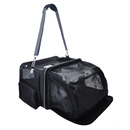 Expandable Airline Approved Pet Dog Cat Carrier Foldable Soft-Sided Travel Tote with Premium Zippers & Lanital Bedding
