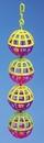 Penn-Plax 4 Lattice Balls w/Bells