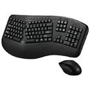 Adesso WKB-1500GB Tru-Form Media 1500 Wireless Ergonomic Keyboard & Laser Mouse