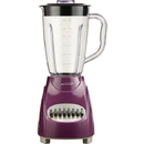 Brentwood Appliances JB-220PR 50-Ounce 12-Speed + Pulse Electric Blender with Plastic Jar (Purple)