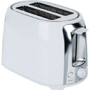 Brentwood Appliances TS-292W 2-Slice Cool-Touch Toaster with Extra-Wide Slots (White & Stainless Steel)
