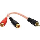 DB Link XLY2FZ X-Series RCA Y-Adapter (1 Male - 2 Females)