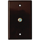 DataComm Electronics 32-2024-BR 2.4GHz Coaxial Wall Plate (Brown)