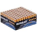 Ultralast ULA100AAAB Alkaline AAA Batteries, 100 pk