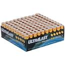 Ultralast ULA100AAB Alkaline AA Batteries, 100 pk