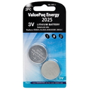 Dantona VAL-2025-2 ValuePaq Energy 2025 Lithium Coin Cell Batteries, 2 pk