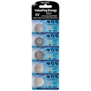 Dantona VAL-2025-5 ValuePaq Energy 2025 Lithium Coin Cell Batteries, 5 pk