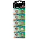 Dantona VAL-AG12-10 ValuePak Energy AG12 Silver Oxide Button Cell Batteries, 10 pk