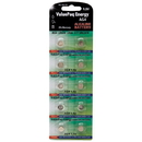 Dantona VAL-AG4-10 ValuePak Energy AG4 Silver Oxide Button Cell Batteries, 10 pk