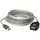 Manhattan 519779 USB 2.0 Active Extension Cable, 16ft