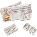 IDEAL 85-366 CAT-6 RJ45 Mod Plug Card of 25