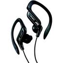 JVC HAEB75B Sport Style Ear-Clip Headphones (Black)