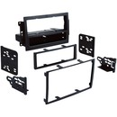 Metra 99-6510 2005 - 2008 Dodge/Jeep/Chrysler Single- or Double-DIN Installation Multi Kit for Vehicles with Factory Navigation