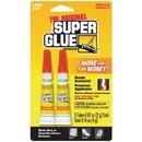The Original SuperGlue SGH22-12 Super Glue Tubes, 2 pk