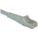 Tripp Lite N201-001-WH CAT-6 Gigabit Snagless Molded Patch Cable (1ft)