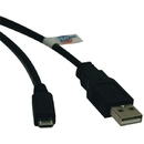 Tripp Lite U050-006 USB 2.0 Hi-Speed A-Male to Micro B-Male Cable (6ft)