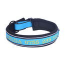Muka Personalized Reflective Custom Dog Collar Embroidered with Pet Name and Phone Number, Adjustable Sizes