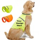 Muka Personalized Pet Reflective Safety Vest Dog Clothes with Custom Text or LOGO