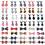 Set R (40 Neckties & 20 Bowties)
