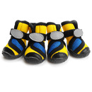 GOGO Soft Mesh Boots For Puppy, Rubber Sole Pet Shoes