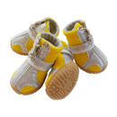 GOGO Pet Boots With Zipper Closure, Soft Mesh Walking Shoes For Puppy