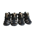 GOGO Puppy Sporty Shoes Boots, Soft Zipper Shoes For Pets