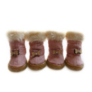 GOGO Pet's Snow Boots Shoes, Adorable Paw Warmer For Winter
