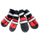 GOGO Durable Waterproof Dog Boots, Nylon Pet Shoes With Long Hook and Loop Strap