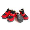 GOGO Breathable Mesh Boots, Zipper Sports Shoes For Puppy