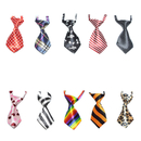 GOGO Cat Dog Ties for Christmas Festival Dog Collar Pet Neckties, 10 Pcs/Pack
