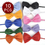"""GOGO Dog Holliday Bow Tie Collar, Wedding Collar, 7"""" - 17"""", Halloween Costumes, Pack for 10 PCS"""