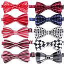 TopTie Dog Bow Ties Pet Cat Collar Ties Mix Colors Grooming, Pack of 10 Pcs