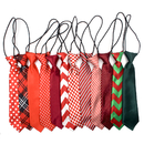 GOGO 12pcs/pack Big Ties For Chrismtas Large Dog Ties Xmas Dog Large Neckties