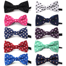 GOGO Adjustable Dog Bow Ties Collar Christmas Festival Pet Bowties Neckties for Party Grooming Accessories