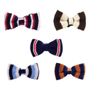 GOGO Cute Pet Bow Tie Puppy Contrasting Colors Grooming Dog Accessories for Party, Set of 5