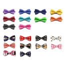 GOGO Small Dog Bow Ties Collar Mixed Patterns, Pet Supplies, Dog Grooming Accessories